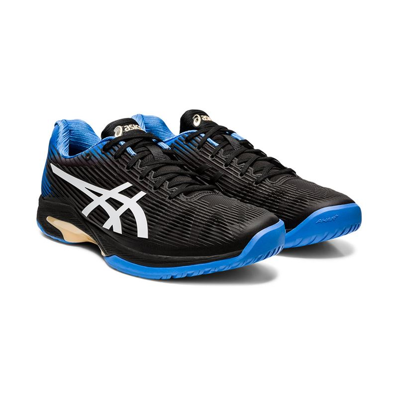 Asics Solution Speed FF (Black/Blue Coast)