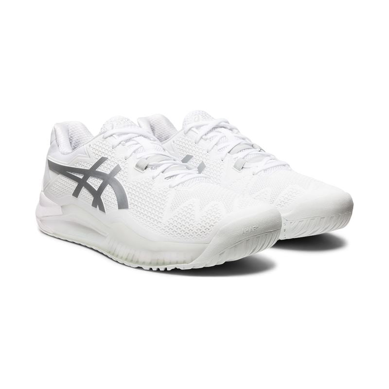 Asics Gel Resolution 8 (White/Pure Silver)