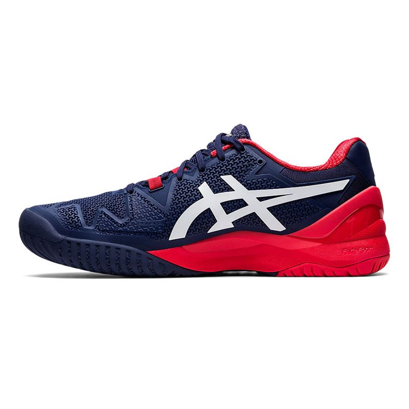Asics Gel Resolution 8 (Peacoat/White)