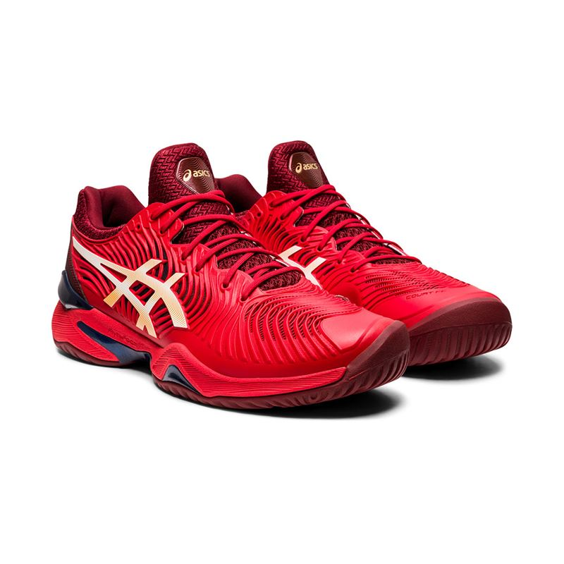 Asics Gel Court FF 2 (Classic Red/White)
