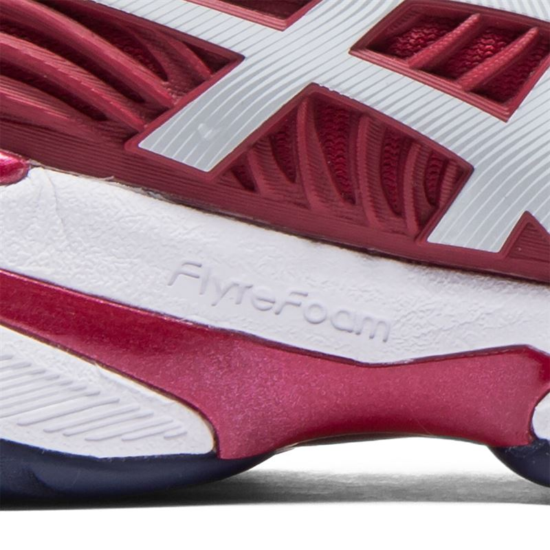 Asics Gel Court FF 2 Novak (Burgundy/White)