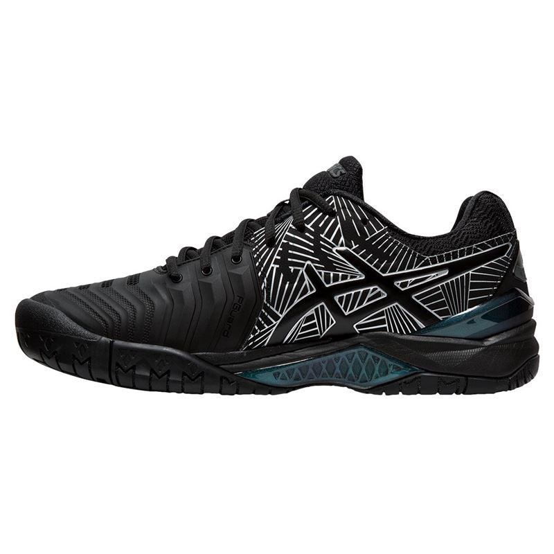 Asics Gel Resolution 7 Limited Edition (Black/Silver)