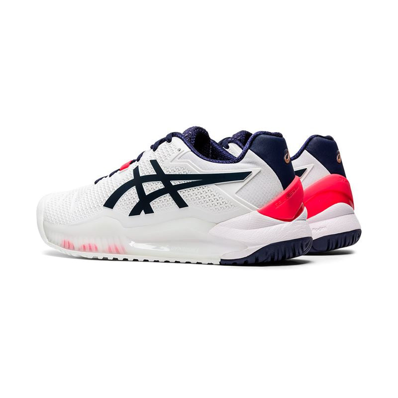 Asics Gel Resolution 8 (White/Peacoat)
