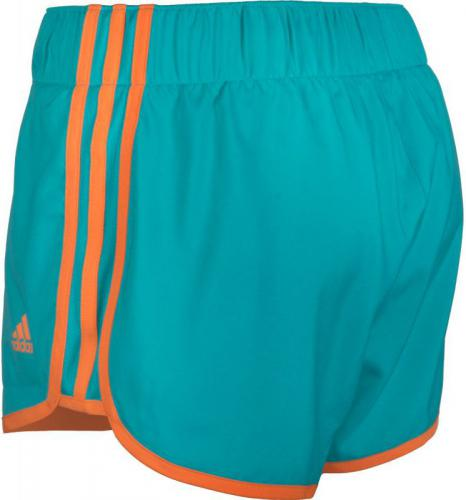 Adidas Ladies M10 Turquoise Shorts