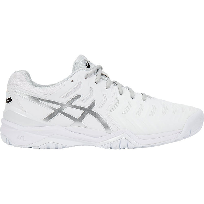 Asics Gel Resolution 7 (White/Silver)