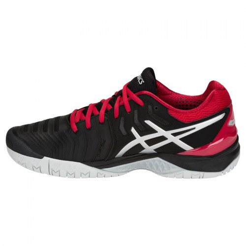 Asics Gel Resolution 7 (Black/Silver/Red)