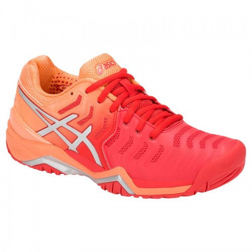 Asics Gel Resolution 7 (Orange/Red)