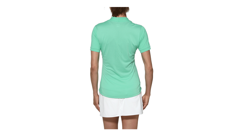 ASICS Ladies Athletic Turquoise Shirt