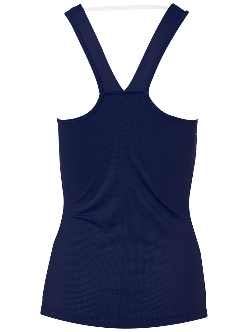 ASICS Ladies Fall Club Blue Tank Top