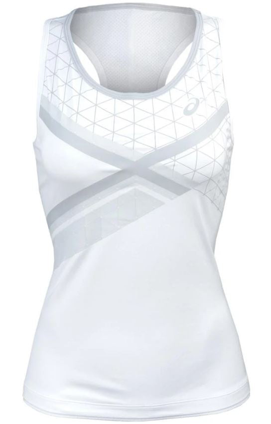 ASICS Ladies Club GPX White Tank Top