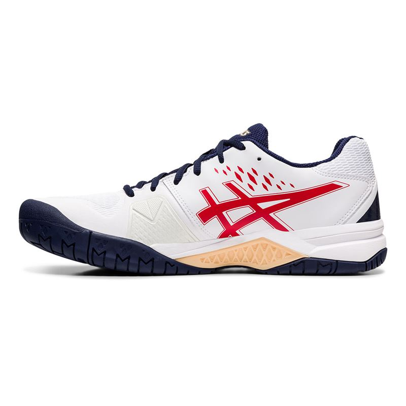 Asics Challenger 12 White Red 1041A045-115