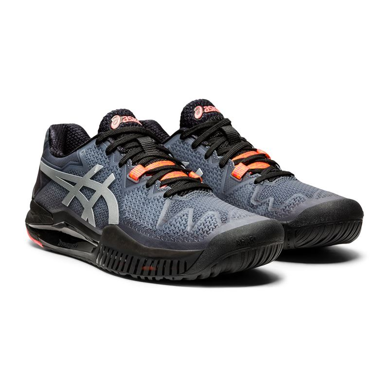 Asics Gel Resolution 8 Limited Edition (Black/Sunrise Red)