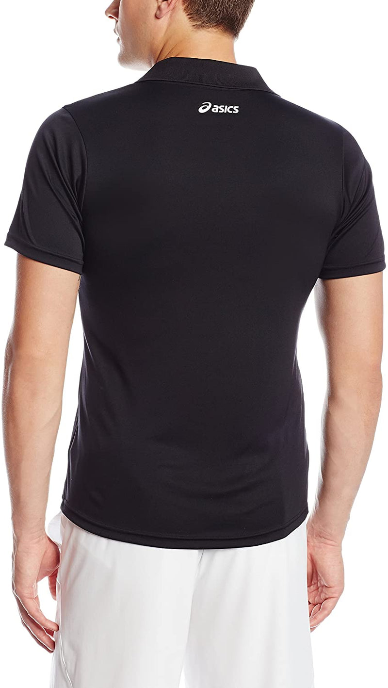 ASICS Black Polo Shirt