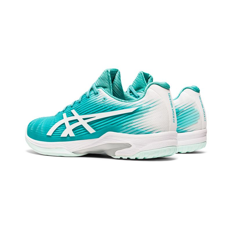 Asics Solution Speed FF (Techno Cyan/White)