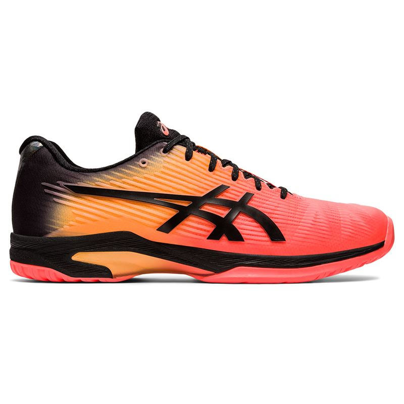Asics Solution Speed FF Flash Coral Black