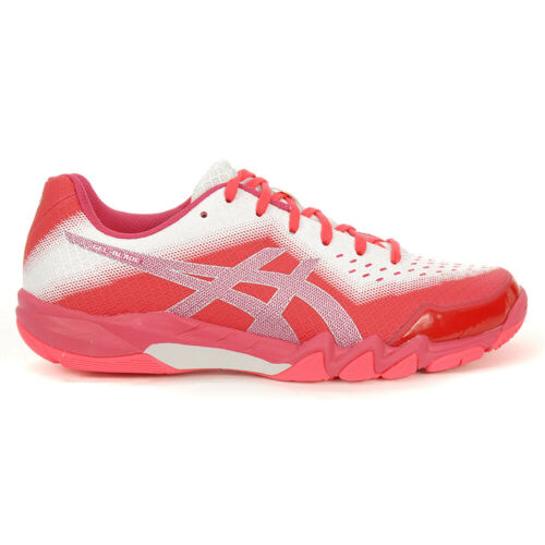 Asics [Gel Blade 6 Pink/Silver] Court Shoes