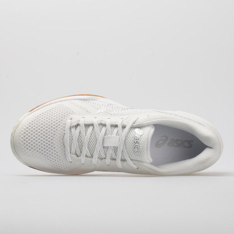 Asics [Gel Tactic 2 White/Silver] Court Shoes