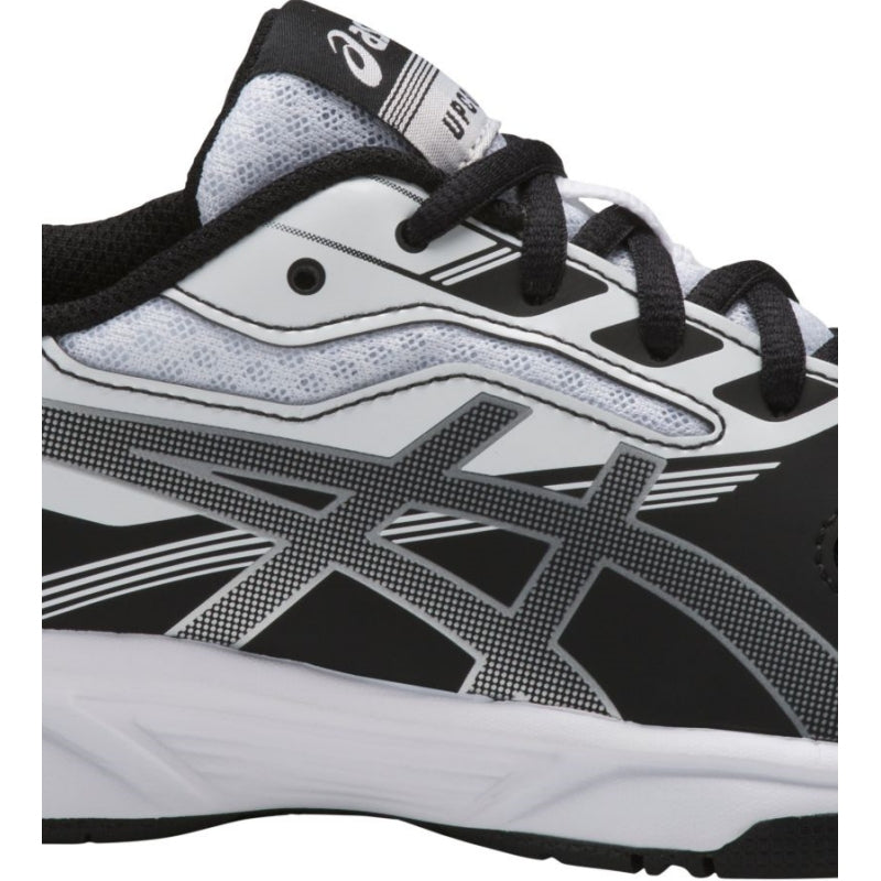 Asics [Gel Upcourt 2 GS Black/White] Court Shoes