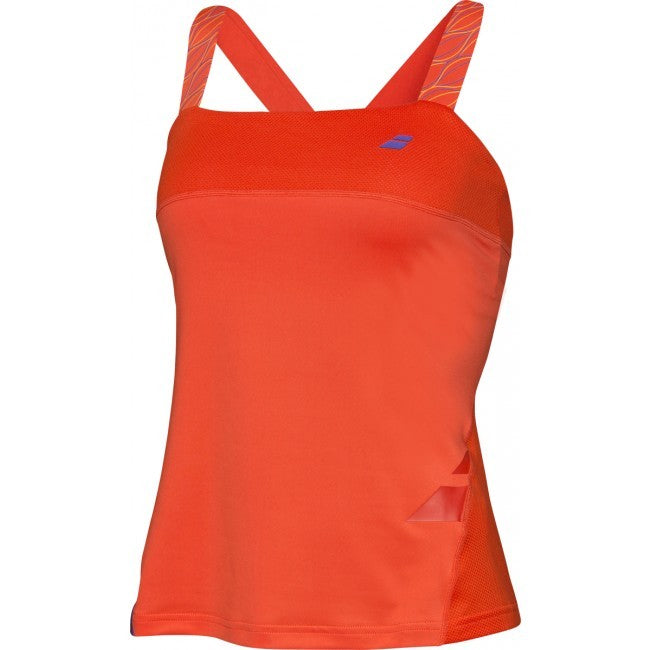 Babolat Ladies Performance Tomato Tank Top