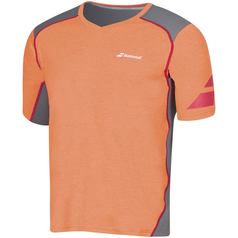 [Babolat 2MS16012 Orange Shirt]