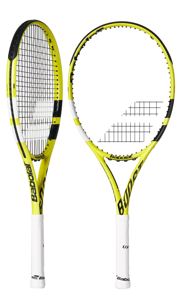 Babolat Aero Boost A - 2021 Yellow/Black Edition (260g) - Pre-Strung