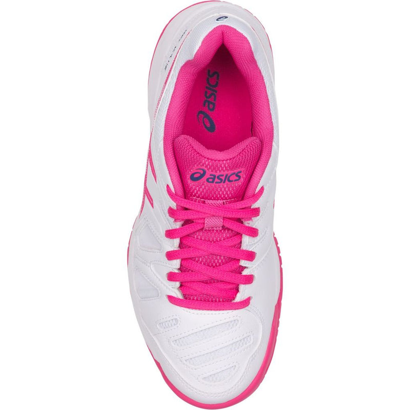 Asics Gel Game 5 GS (White/Pink Glow) Junior