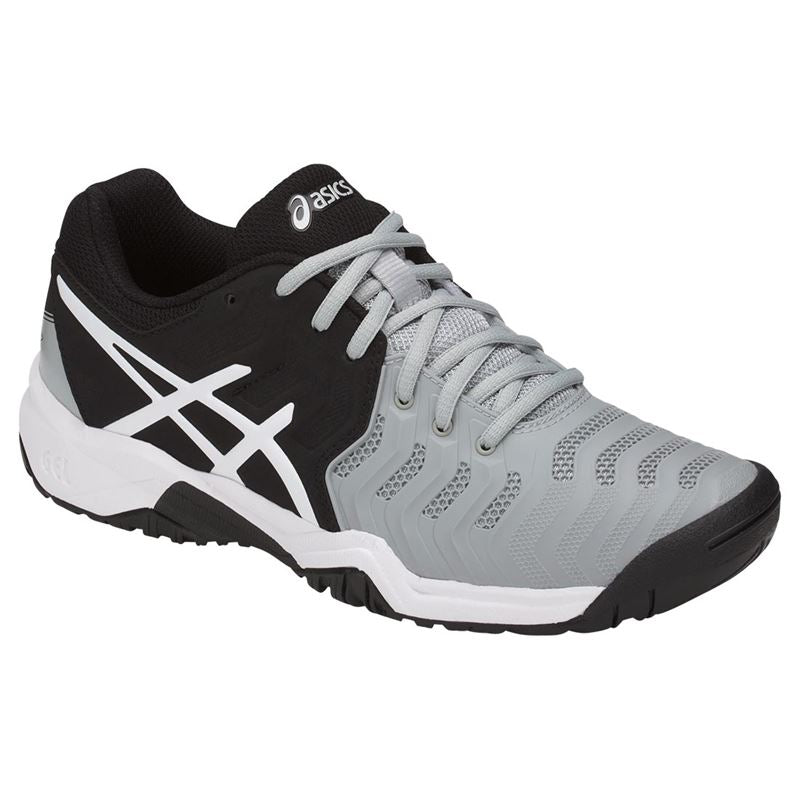 Asics Gel Resolution 7 GS (Midgrey/Black/White) Junior
