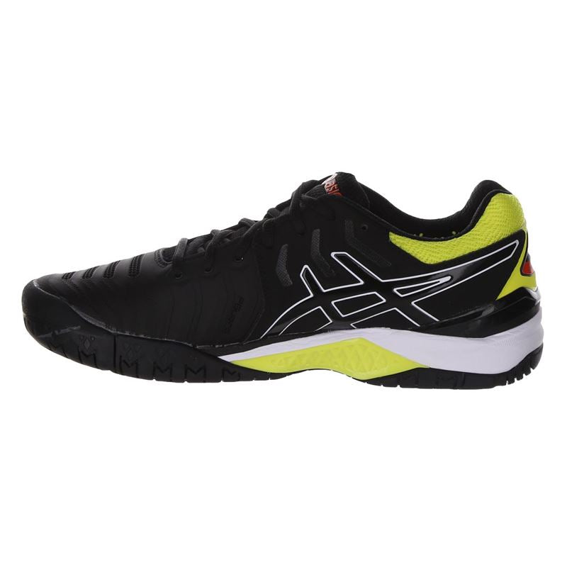 Asics Gel Resolution 7 (Black/Sour Yuzu) - Special Order - Final Sale
