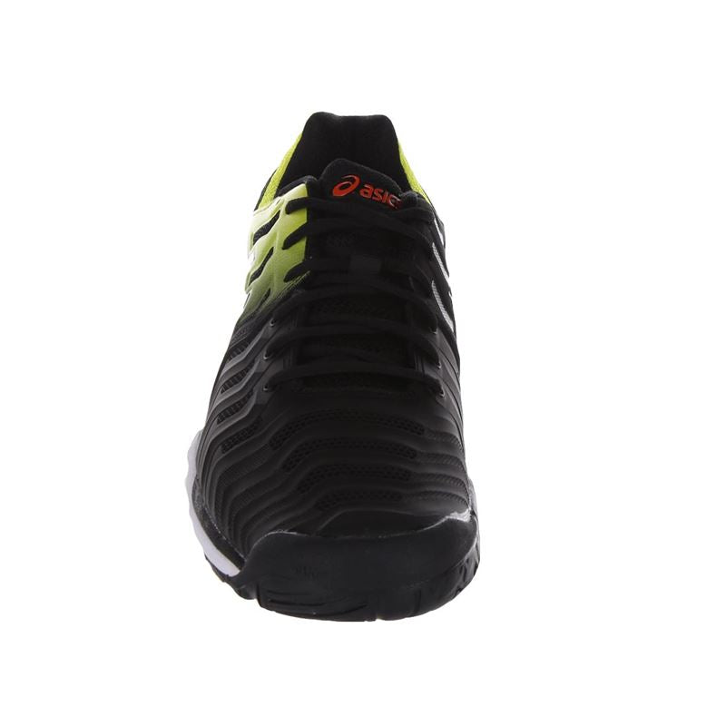 Asics Gel Resolution 7 (Black/Sour Yuzu)