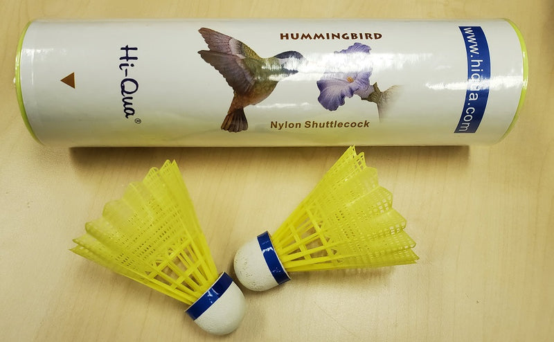 HQ Recreational Badminton Shuttlecock (6pcs)