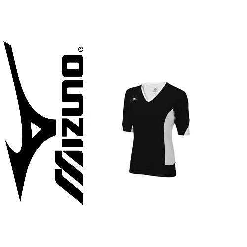 [Mizuno Ladies Classic Black Shirt]