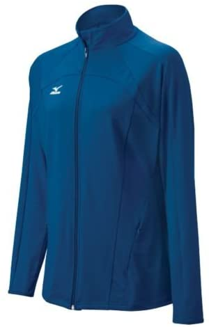 [Mizuno Full Zip Blue Jacket]