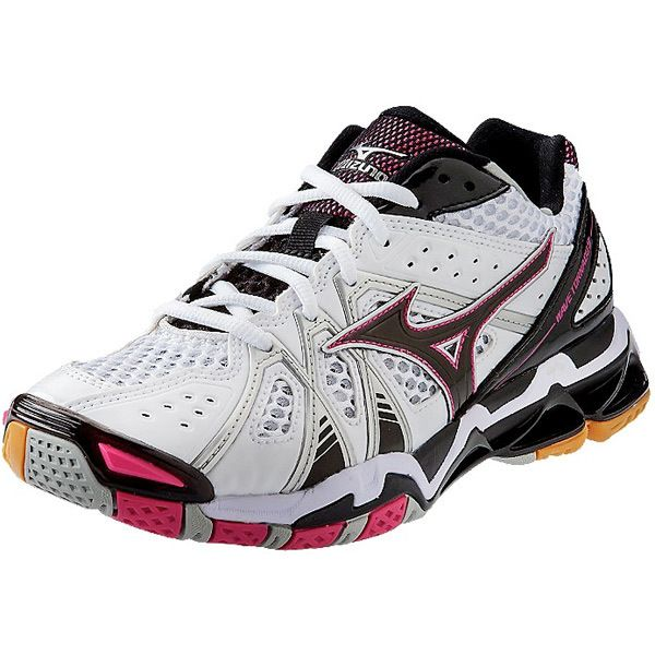 Mizuno [Tornado 9 White/Purple] Court Shoes