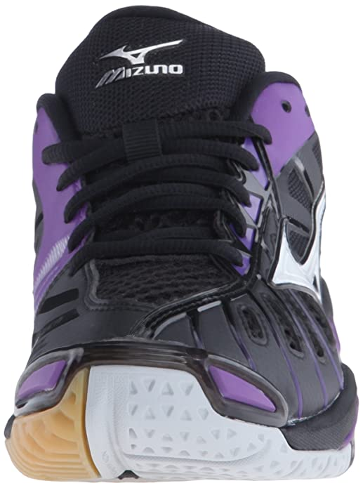 Mizuno [Tornado X Black/Purple] Court Shoes
