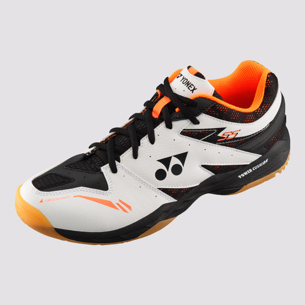 YONEX Power Cushion [SHB-55 White/Orange] Court Shoes
