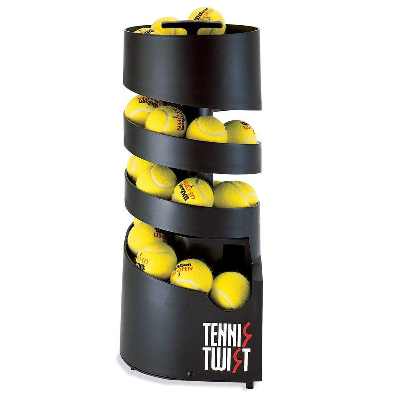 Portable Tennis Tutor Tennis Twist Ball Machine - Battery Powered