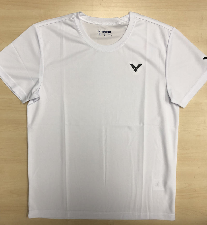 Victor Ladies Dri-fit White Shirt