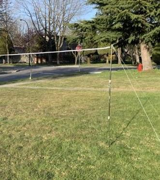 Victor C-7042 Portable Outdoor Badminton Net Set Package A