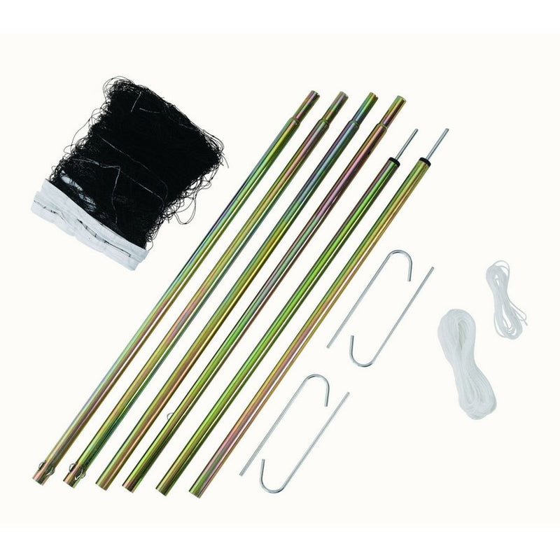 Victor C7042 Badminton Net Set with Posts Package A