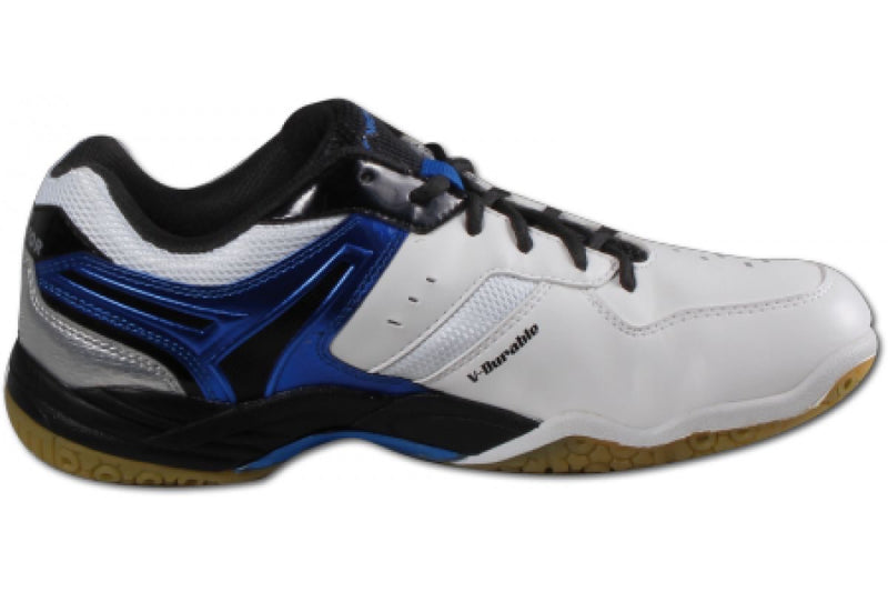 Victor [A710 F White/Blue/Black] Court Shoes