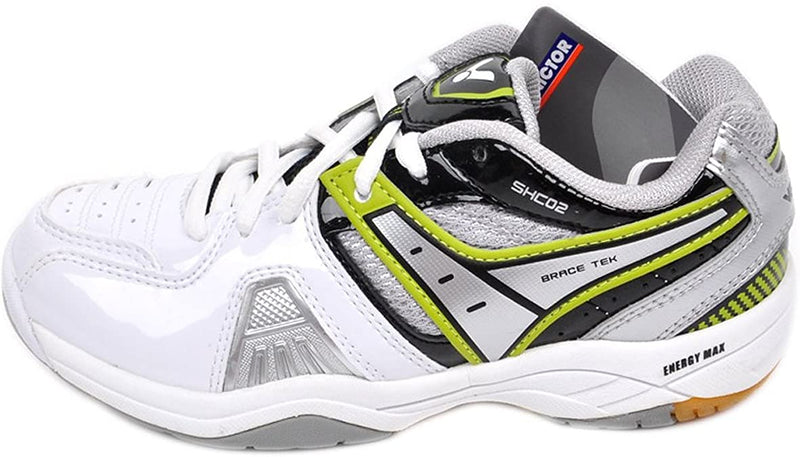 Victor [SHC 02 C White/Black] Court Shoes