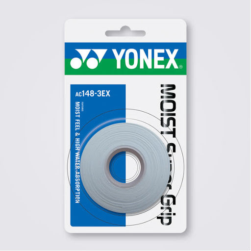 Yonex Moist Grap (Pack of 3) - White