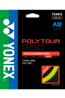 Yonex Polytour Pro 115 Tennis String Pack (12m) - Yellow