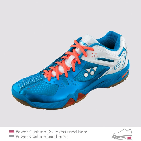 YONEX Power Cushion [SHB-02 Blue] Court Shoes
