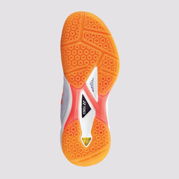 YONEX Power Cushion [SHB 65X2 White/Orange] Court Shoes