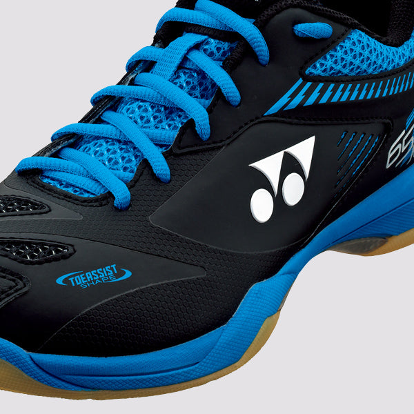 YONEX Power Cushion [SHB 65Z2 Black/Blue] Court Shoes