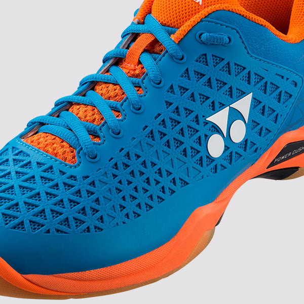YONEX Power Cushion [ECLIPSION X Blue/Orange] Court Shoes