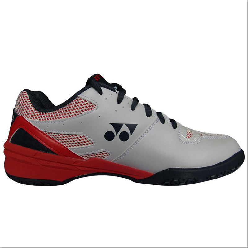 YONEX Power Cushion [SHB 56 White/Red] Court Shoes