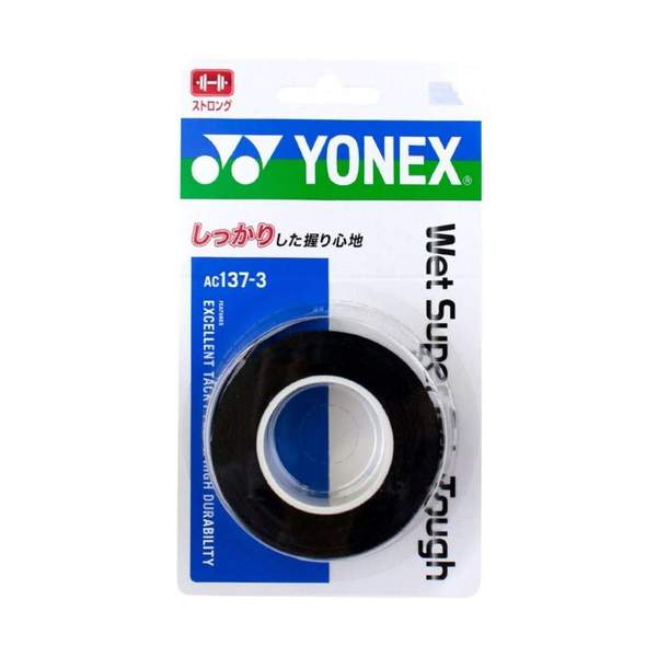 Yonex Super Grap Tough (Pack of 3) - Black