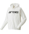 Yonex YJ0018EX Junior Long Sleeve Full Zip White Hoodie